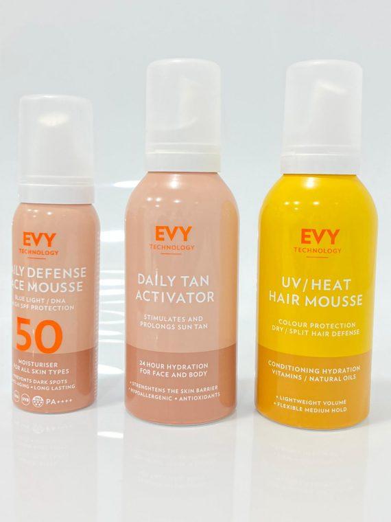 evy promo total sol cuerpo y cabello corpocare