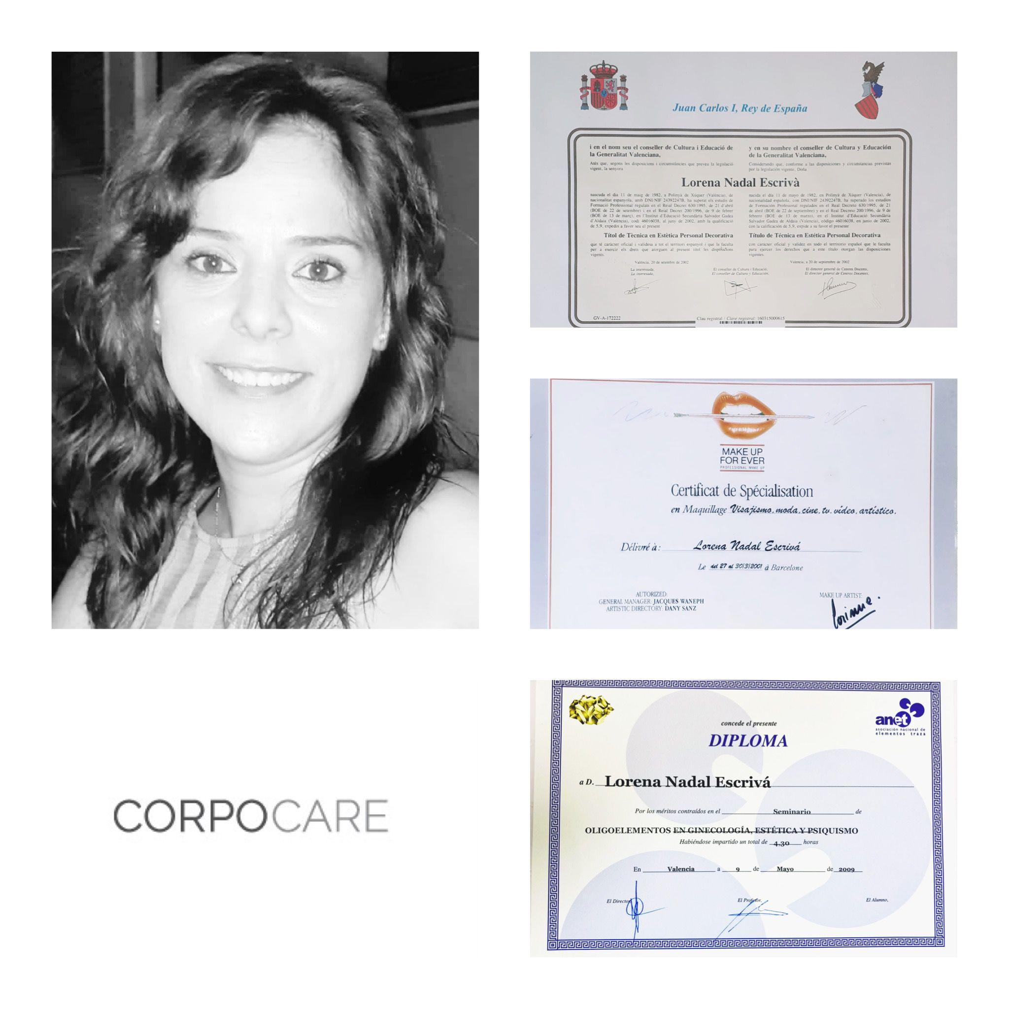 Lorena Nadal profesional